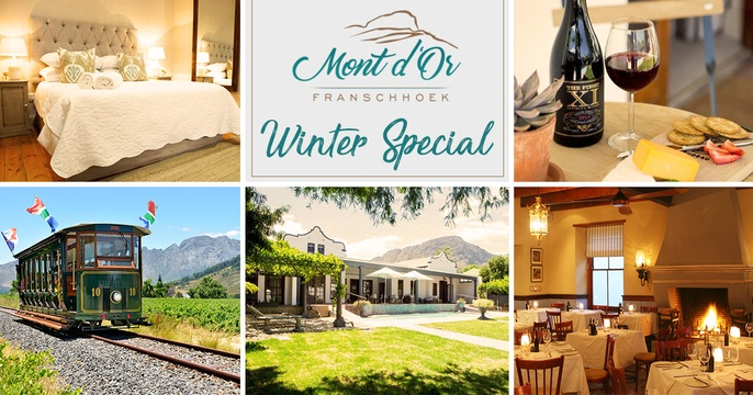 winter special discounted accommodation Franschhoek