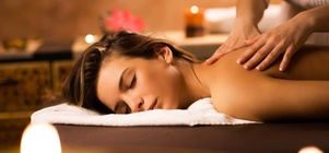 WINTER SPA SPECIAL - full body hot stone massage