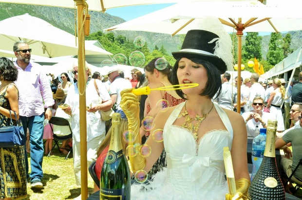 champagne and MCC festival Franschhoek
