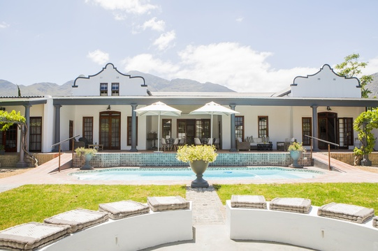 special discount accommodation in Franschhoek